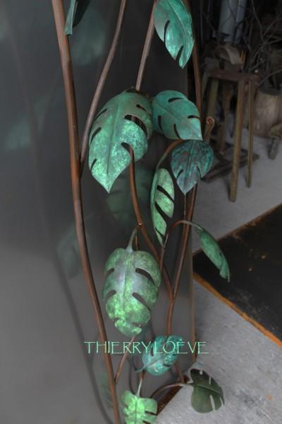 patine des feuilles finies