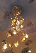 """Luminaire d'escalier """" feuilles  d'automne """""""