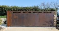 Vue du deuxième portail